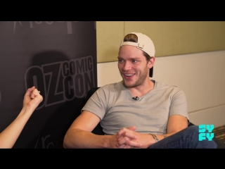 SYFY Australia: Shadowhunters Star Dominic Sherwood On The Amazing Fan Support