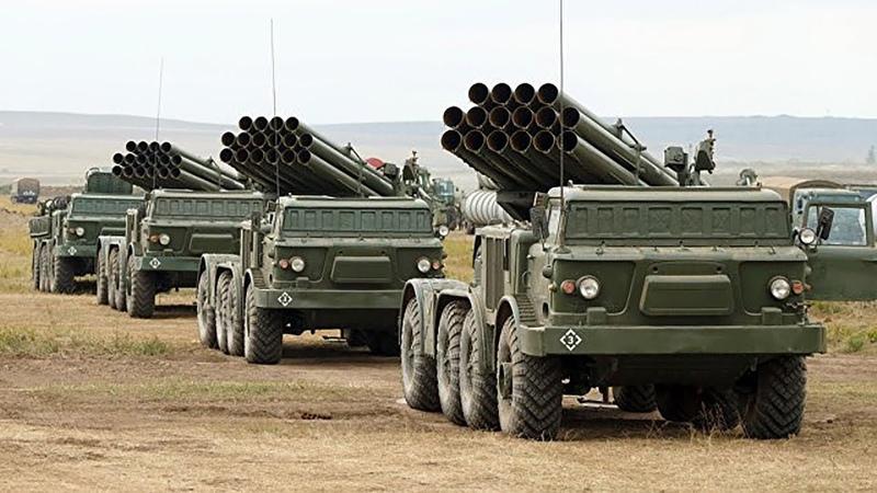 Украинско-террористические войска получили новую партию Ураганов для усмирения жителей Донбасса
