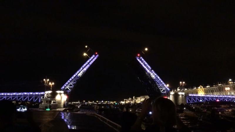 Экскурсия в Санкт-Петербурге по Невки развод мостов