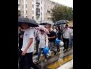 🎈День города Каменск-Шахтинского стартовал с праздничного шествия коллективов предприятий и организаций города.🎈 😁Дождь и лужи н