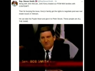 John McCain, John Kerry treated our POW-MIA families with CONTEMPT