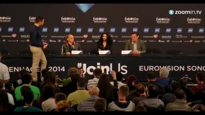 Eurovision 2014 - Austrias bearded lady wants acceptance 03.05.2014 » Freewka.com - Смотреть онлайн в хорощем качестве