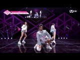 CNC Ent. Produce 48 performance Iggy Azalea - Team