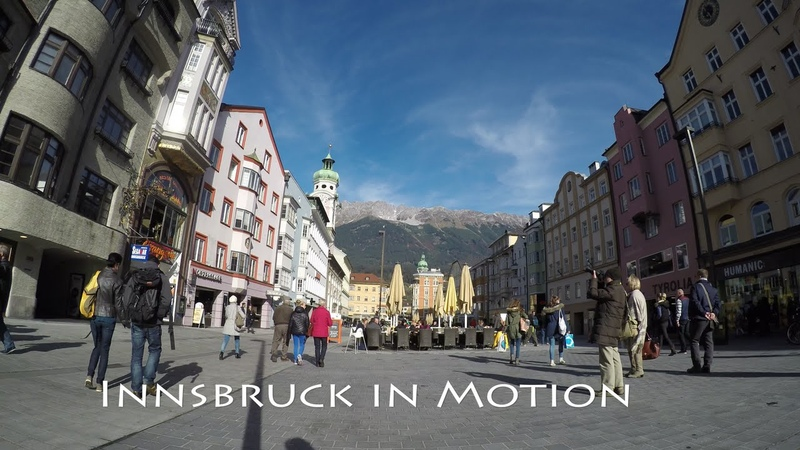INNSBRUCK in MOTION - Timelapse in 4k by Gopro Hero4