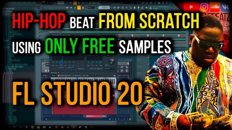 MAKING BEAT FROM SCRATCH [ONLY FREE SAMPLES] *FL Studio 20* Classic Hip-Hop Beat | Notorious B.I.G.