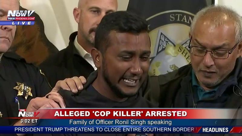 FULL ARREST ANNOUNCEMENT: Gustavo Perez Arriaga Accused of Killing Cprl. Ronil Singh (FNN)