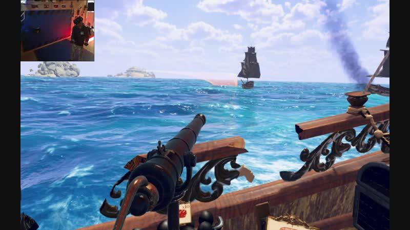 Морской бой Заплыв на харде на среднем кораблике FuriousSeas VR