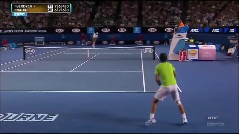 Надаль - Бердых/Australian Open-2012 (Betting good tennis)