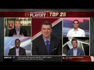 NCAAF 2018 / Week 06 / College Football Playoff: Top 25 / EN