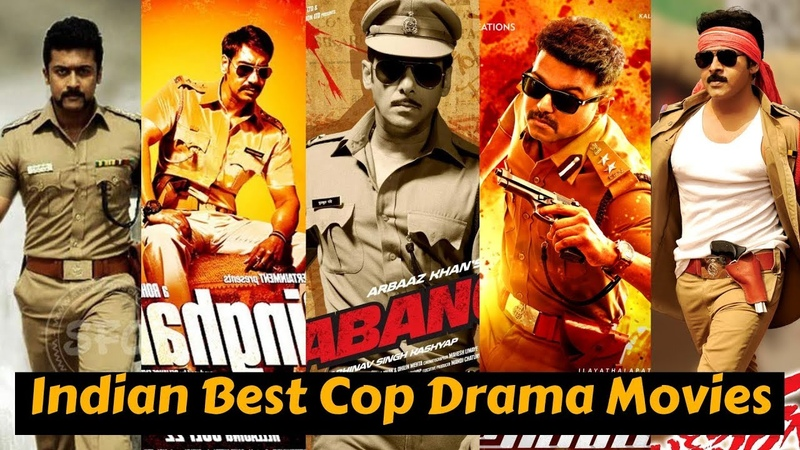 20 Best Indian Cop Drama Movies of All Time | Actor Who Played Police Officer Role