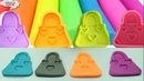 Learn Colors ☀ Make Bags Of Colored Clay ☀ Toys ☂ Kids Videos