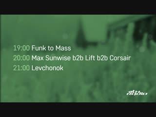 Funk to Mass / Max Sunwise b2b Lift b2b Corsair and Levchonok - Live @ Breakpoint / Province (27.12.2018)