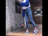 CTRLCITY High Waist Jeans Classic Women Wide Leg Jeans Women Casual Loose Ladies stretch Jeans Tassel Ankle-Length Pants8910