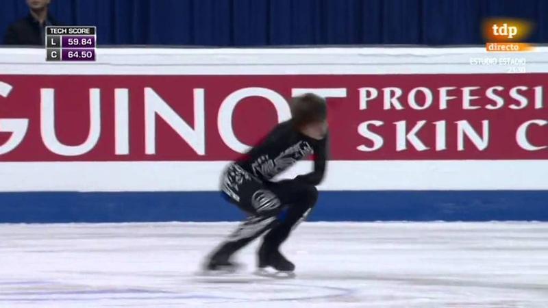 Deniss Vasiljevs. 2016 European Figure Skating Championships. FS