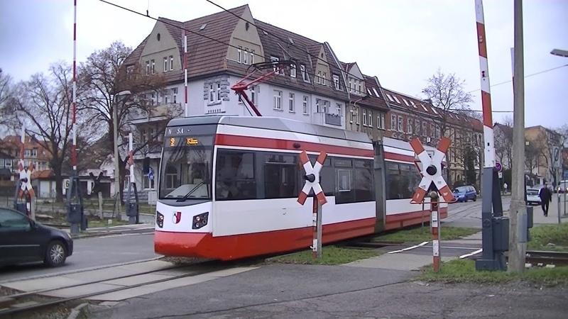Spoorwegovergang Halberstadt D Railroad crossing Bahnübergang