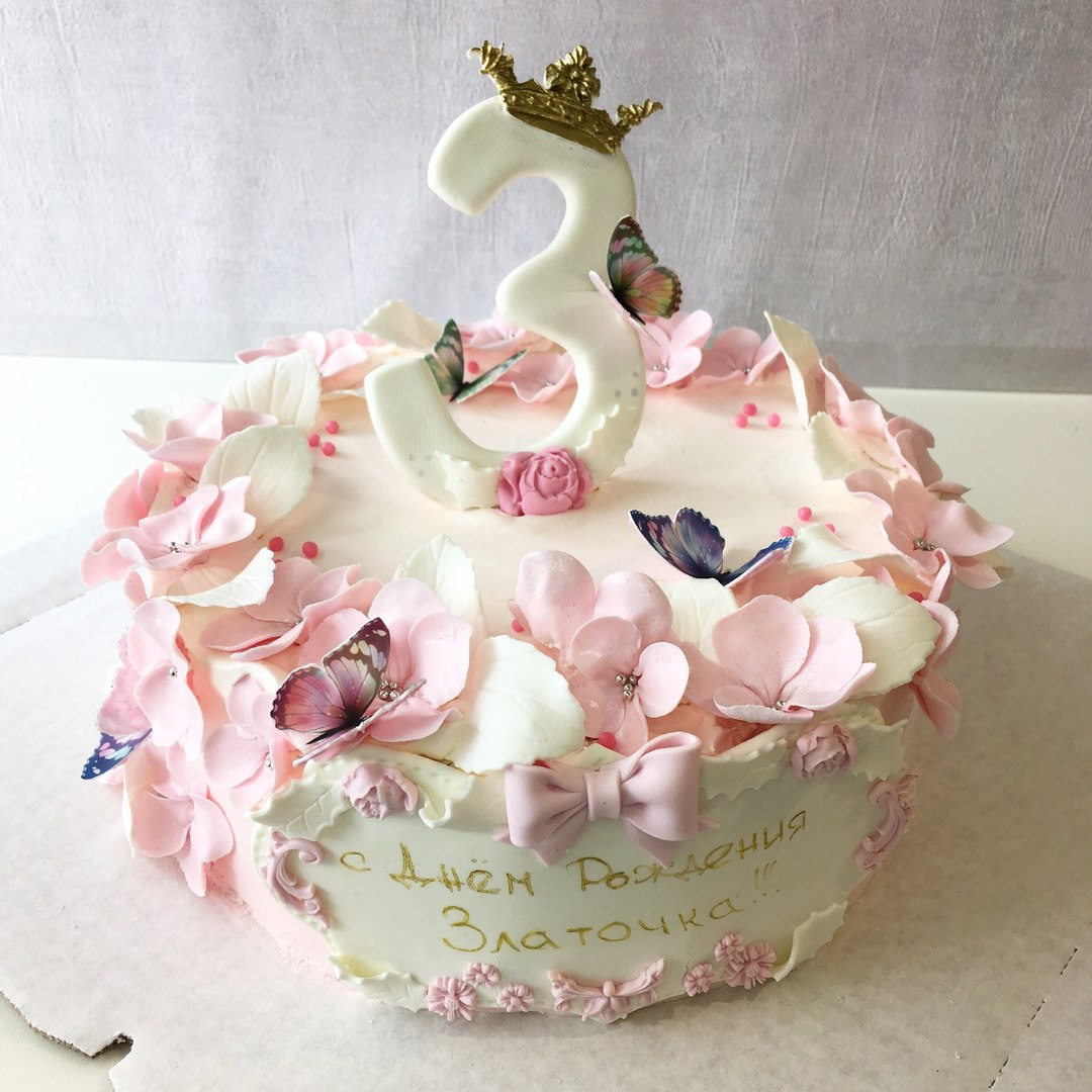 Торт для девочки (Арт.170)
