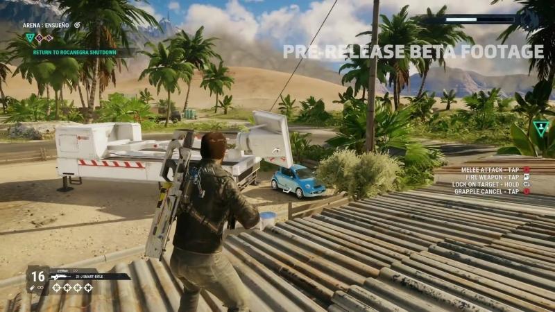19 минут геймплея Just Cause 4 с комментариями разработчиков