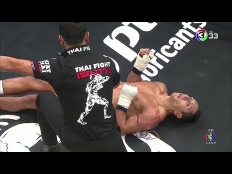 Thai Fight 27-10-2561 แสนสะท้าน คลองสวนพลูรีสอร์ท vs โฮซีน นาซิรี่ Saensatharn vs Hosein