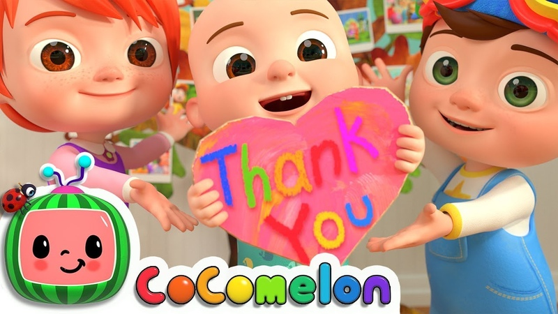 Thank You Song | CoCoMelon Nursery Rhymes Kids Songs