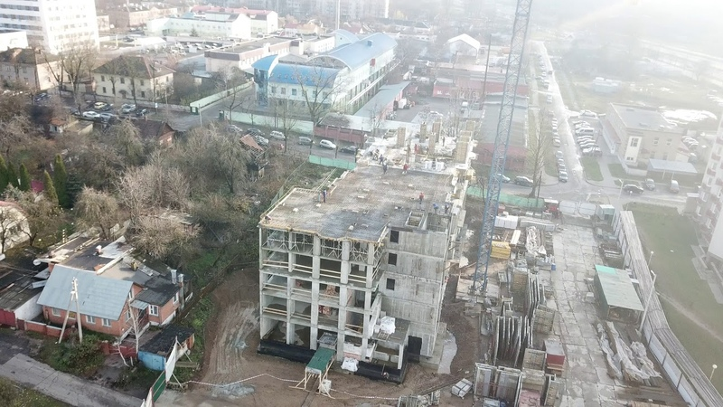 ЖК Карамель. Ход строительства от 15.11.2018