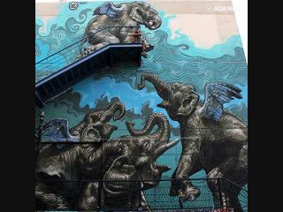 Очаровывающий стрит-арт
