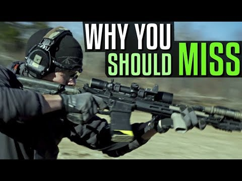Why You Should Miss When Shooting