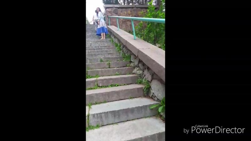 Алматы. 1000 лестница Медеу