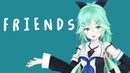 MMD艦これ PV風 『FRIENDS Marshmello Anne Marie 』by 山風 1440p