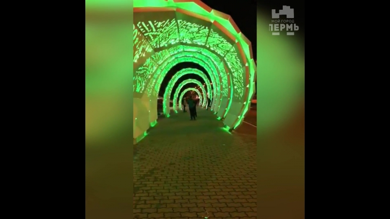 Новая арка у Лукойла в Перми