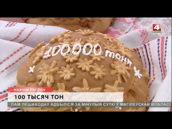 100 000 тонн зерна намолотили в Шкловском районе [БЕЛАРУСЬ 4| Могилев]