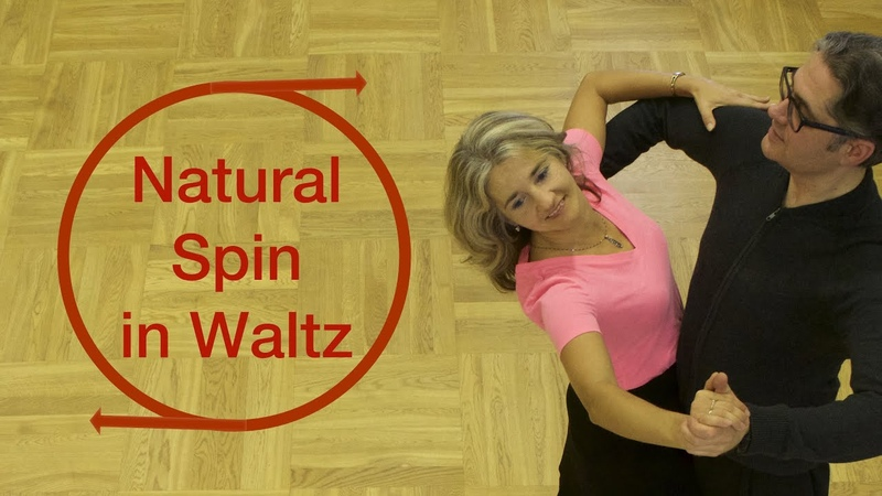 How To Dance Waltz Basic? | Natural Spin Turn