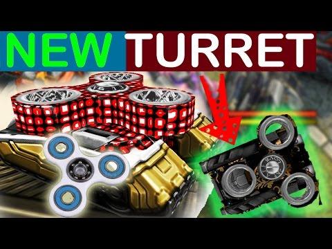 Tanki Online A.F.F new turret spinner fidget toy
