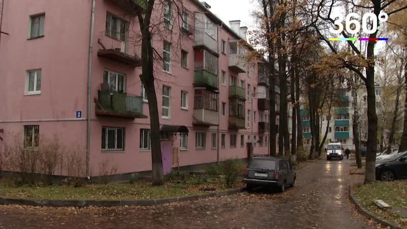 Подъезд в Апрелевке пугает жильцов своим видом