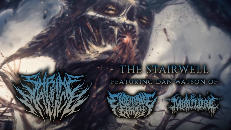 Shrine of Malice The Stairwell ft Dan Watson Lyric Video 2018 Chugcore Exclusive
