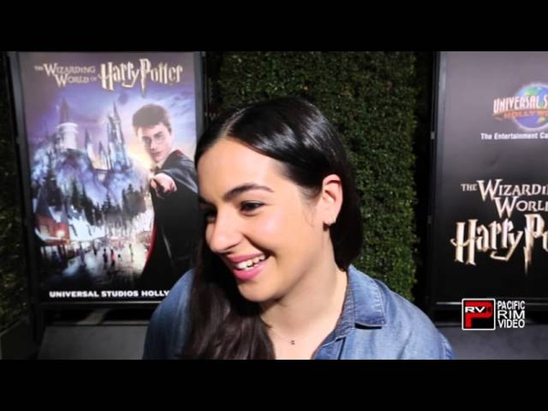 Alanna Masterson reveals shes a Harry Potter Fan stays mum about The Walking Dead