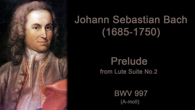 J.S.Bach BWV 997 Prelude