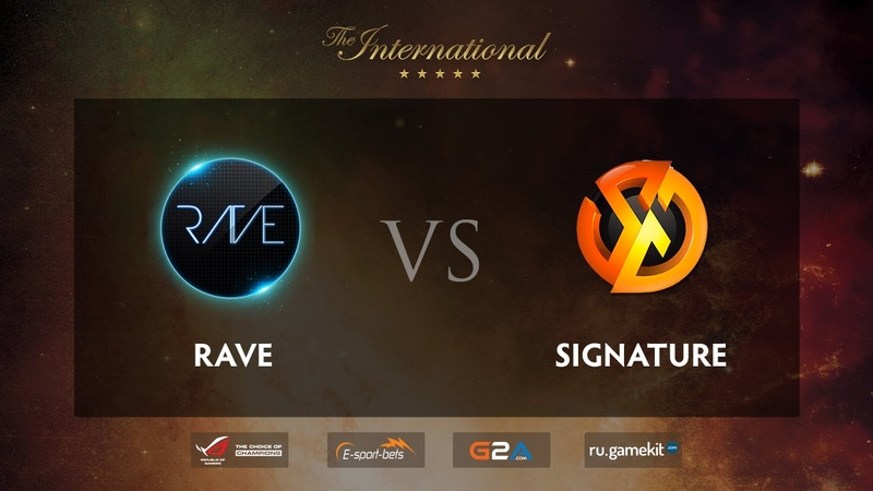 RAVE vs SIG.TR Game 2, TI5 SEAQualifiers
