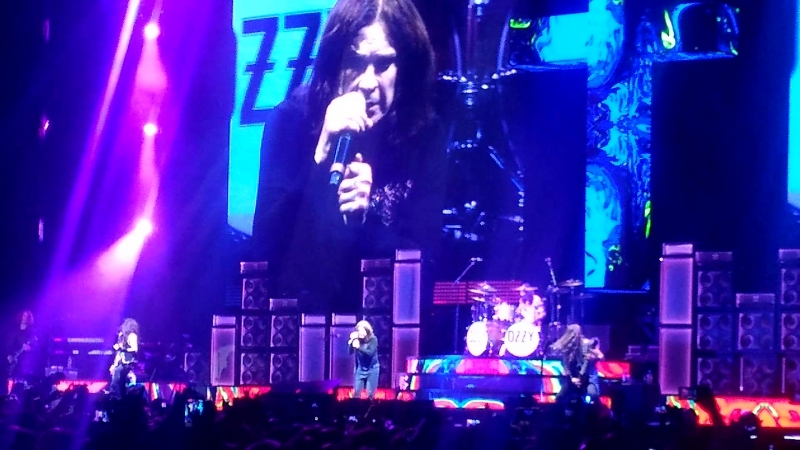 OZZY OSBOURNE - FAIRIES WEAR BOOTS (OLYMPIC STADIUM, MOSCOW, 01/06/2018)