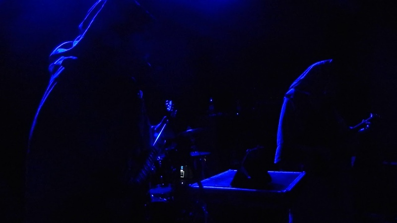 THOU SHELL OF DEATH. Performing live in Moscow. Model T club. 19 April 2019.