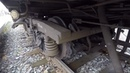 GoPro Тележка пассажирского вагона КВЗ-ЦНИИ 3 / Passenger car bogie 3