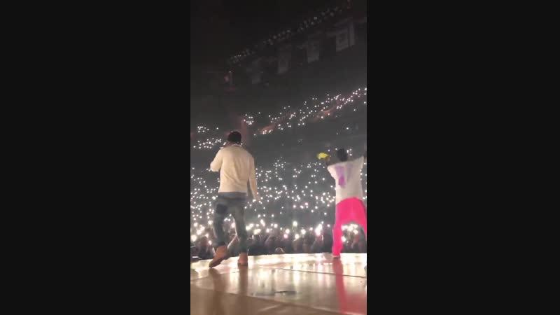 Выступление A$AP Rocky и Lil Yachty с треком «1 Night» на концерте «Yams Day»