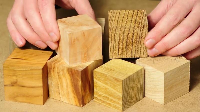 Кубик в кубе Прикольная самоделки из дерева