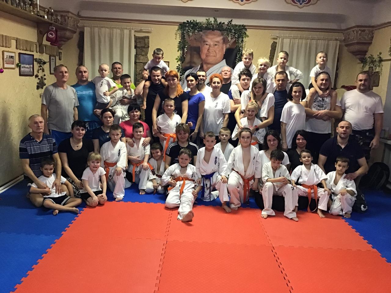 День семейный Школа карате в Орле