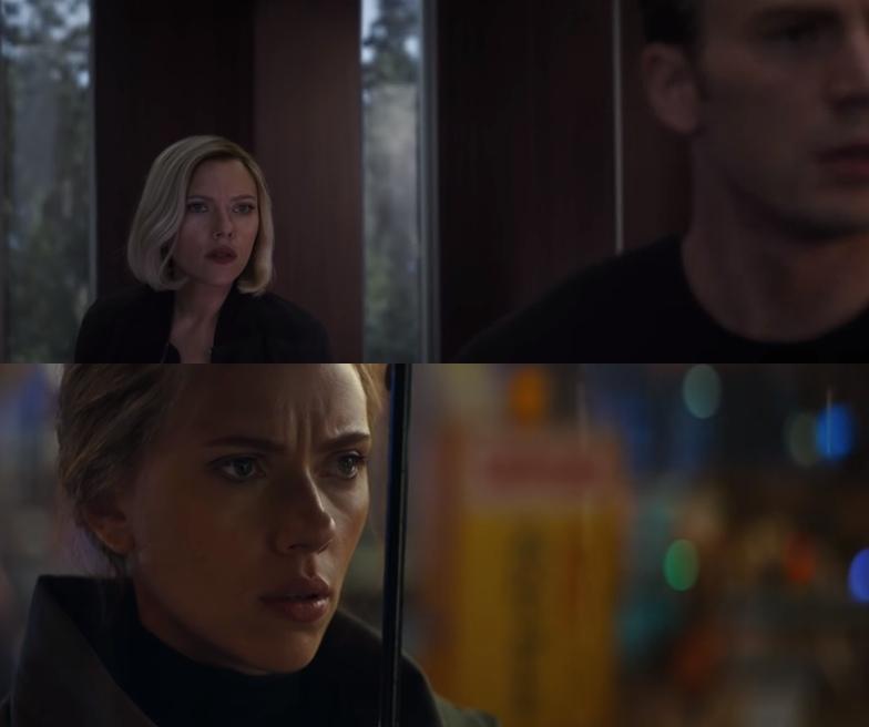 Прическа Черной Вдовы в трейлере «Мстителей:Финал» создана на компьютере?