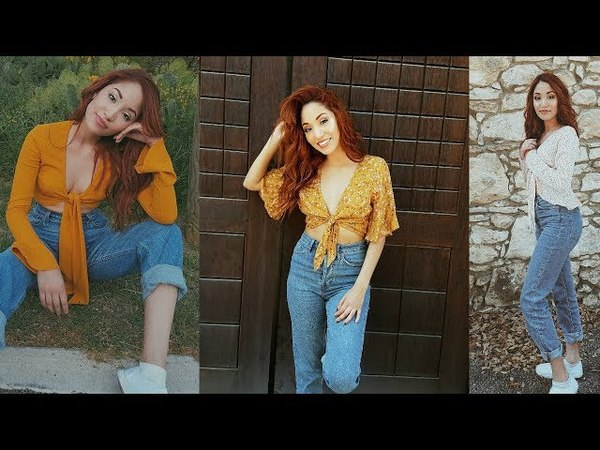 SUMMER OUTFITS: TIE TOPS HIGH WAISTED JEANS