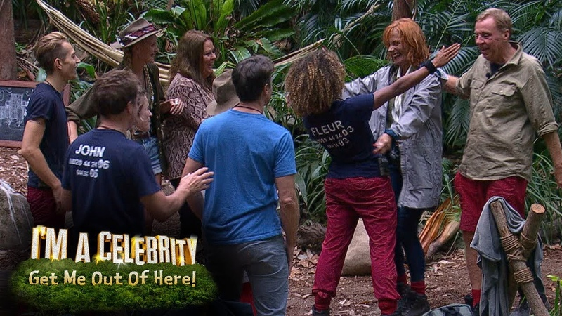 The Celebs Families All Meet in Camp | Im A Celebrity... Get Me Out Of Here!