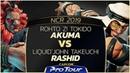 ROHTO Z Tokido Akuma vs Liquid`John Takeuchi Rashid NCR 2019 Top 8 CPT 2019