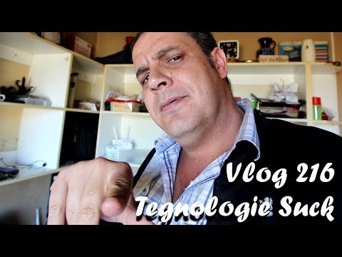 Vlog 216 Tegnologie 2018 Suck - The Daily Vlogger in Afrikaans