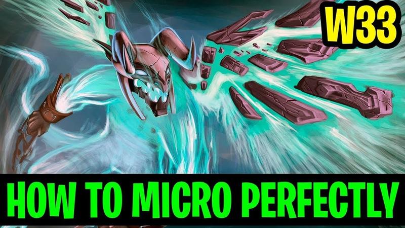 How To Micro Perfectly - W33 Visage - Dota 2