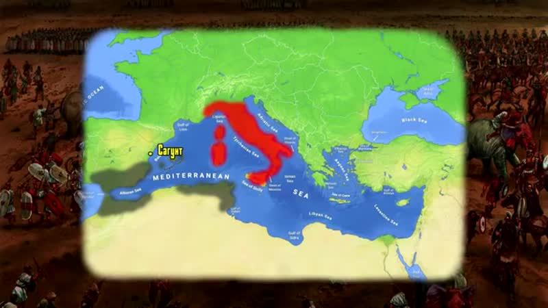 Клятва Ганнибала Предыстория 2 й Пунической войны
